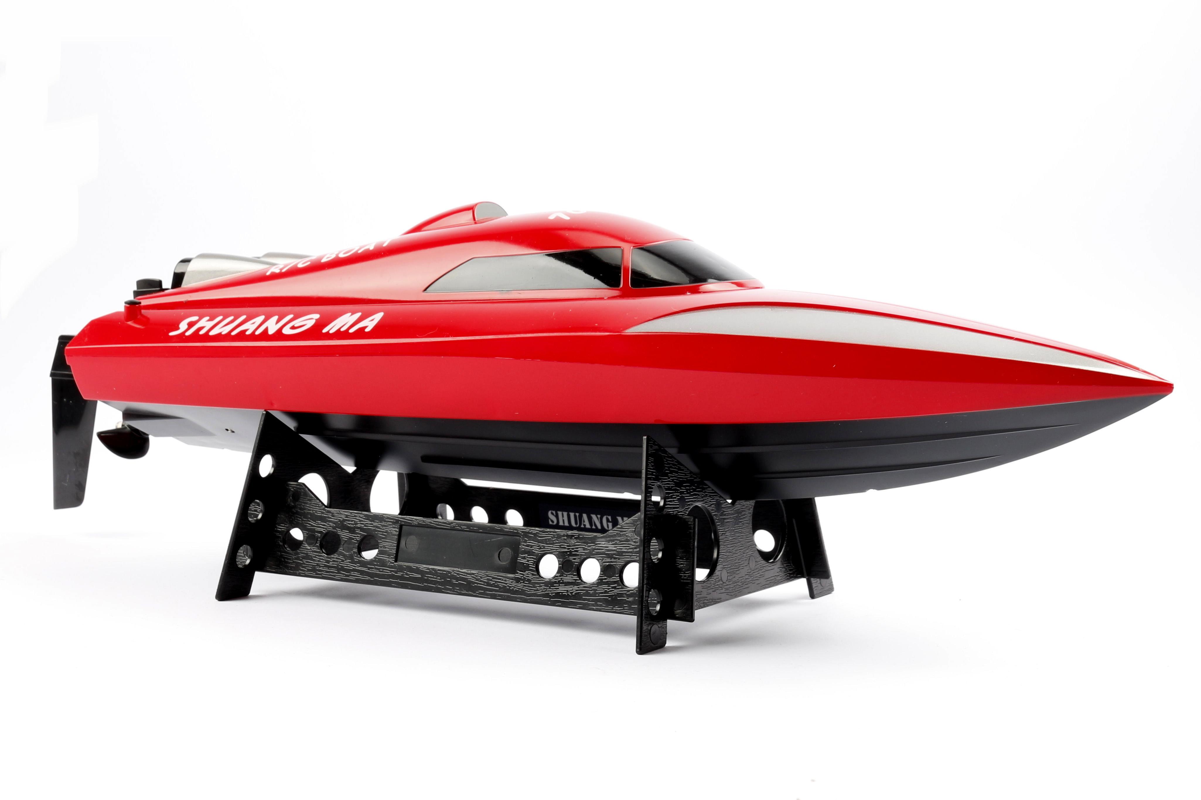 speedboot rc schnellboot ferngesteuertes boot bis 30km h 2. Black Bedroom Furniture Sets. Home Design Ideas
