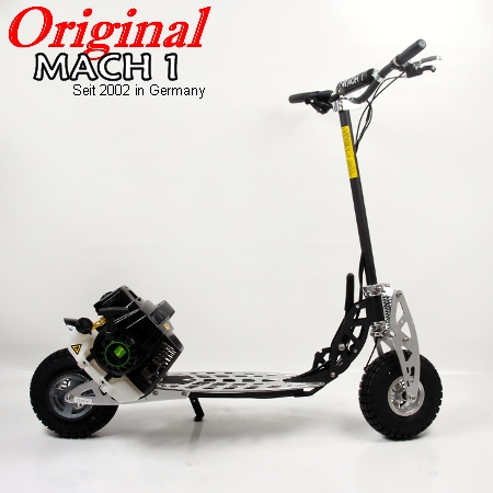 mach1 benzinscooter modell 9 mit 71ccm motor ped. Black Bedroom Furniture Sets. Home Design Ideas