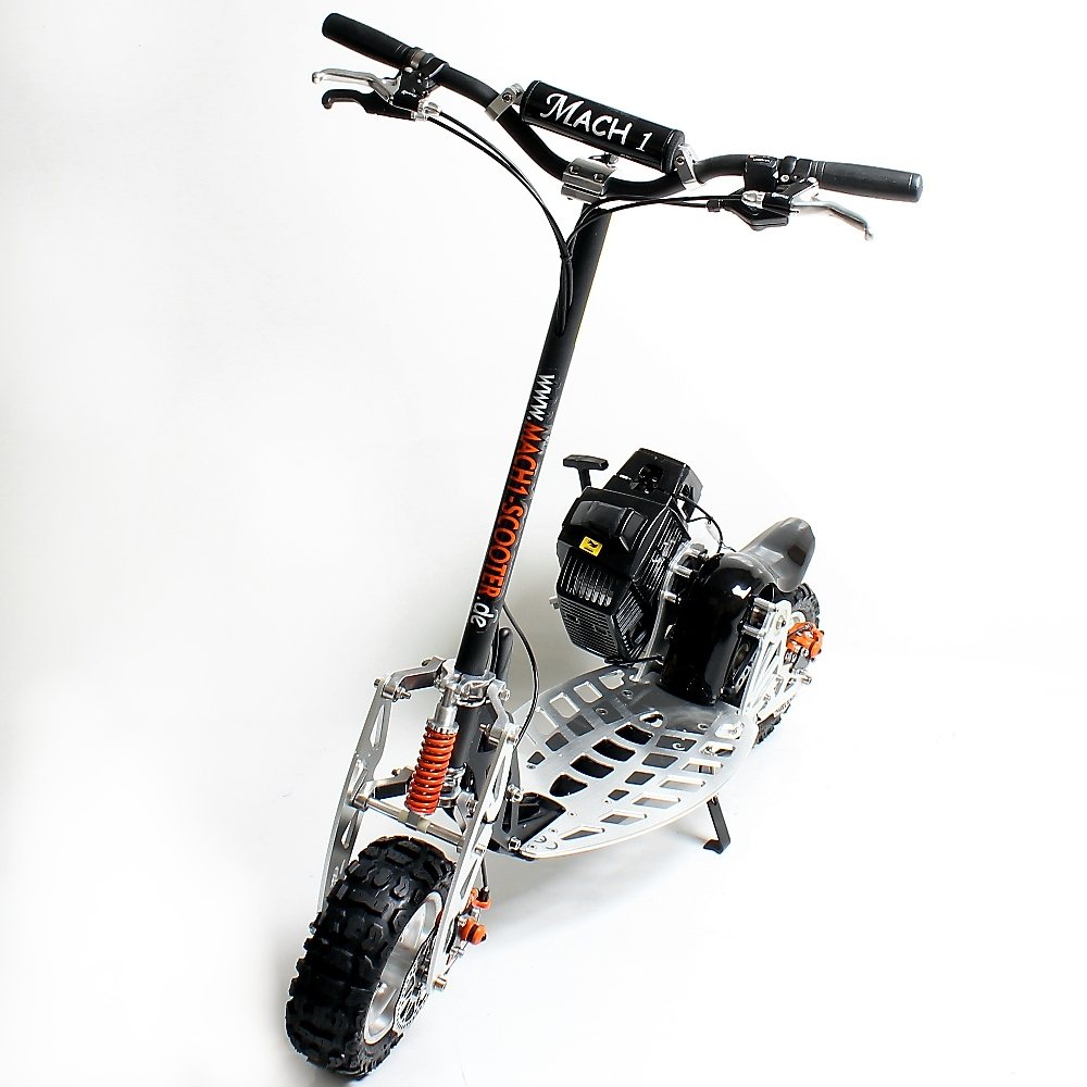 mach 1 benzinscooter modelo 10 con motor 71ccm ped power. Black Bedroom Furniture Sets. Home Design Ideas
