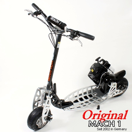 mach1 benzinscooter modell 9b mit 71ccm motor ped. Black Bedroom Furniture Sets. Home Design Ideas