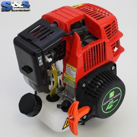 31ccm 4 takt motor mit 1 ps f r mach1 benzin scooter ebay. Black Bedroom Furniture Sets. Home Design Ideas