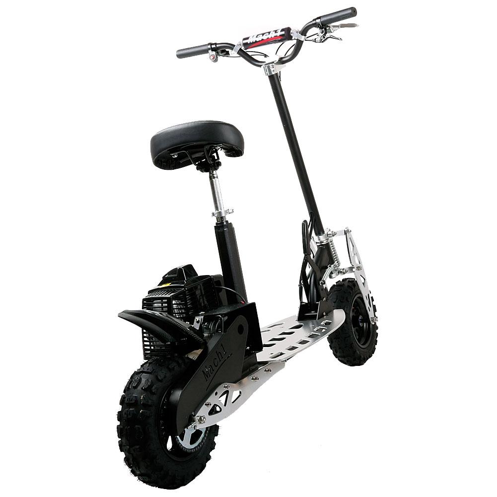 benzin scooter 71ccm 2 takt motor powerboard b scooter modell 8 65km h 1641 ebay. Black Bedroom Furniture Sets. Home Design Ideas