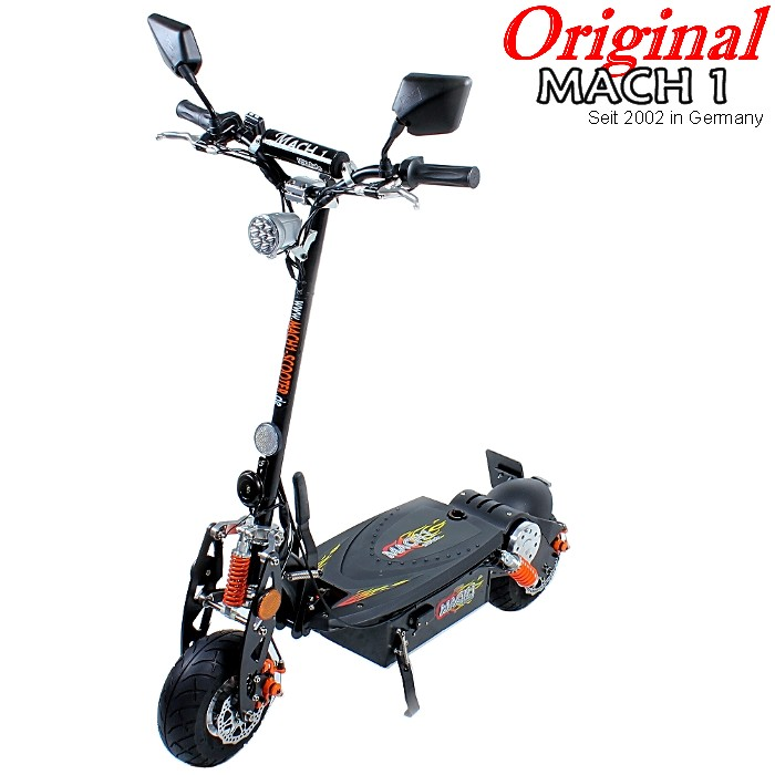 mach 1 e scooter 1000 w avec rues admission mobylette. Black Bedroom Furniture Sets. Home Design Ideas