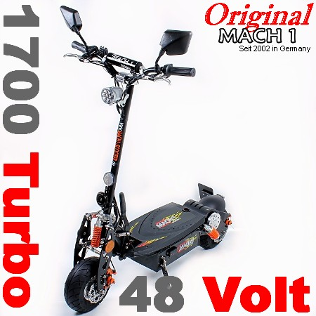 mach1 e scooter 1000w mit strassenzulassung moped. Black Bedroom Furniture Sets. Home Design Ideas