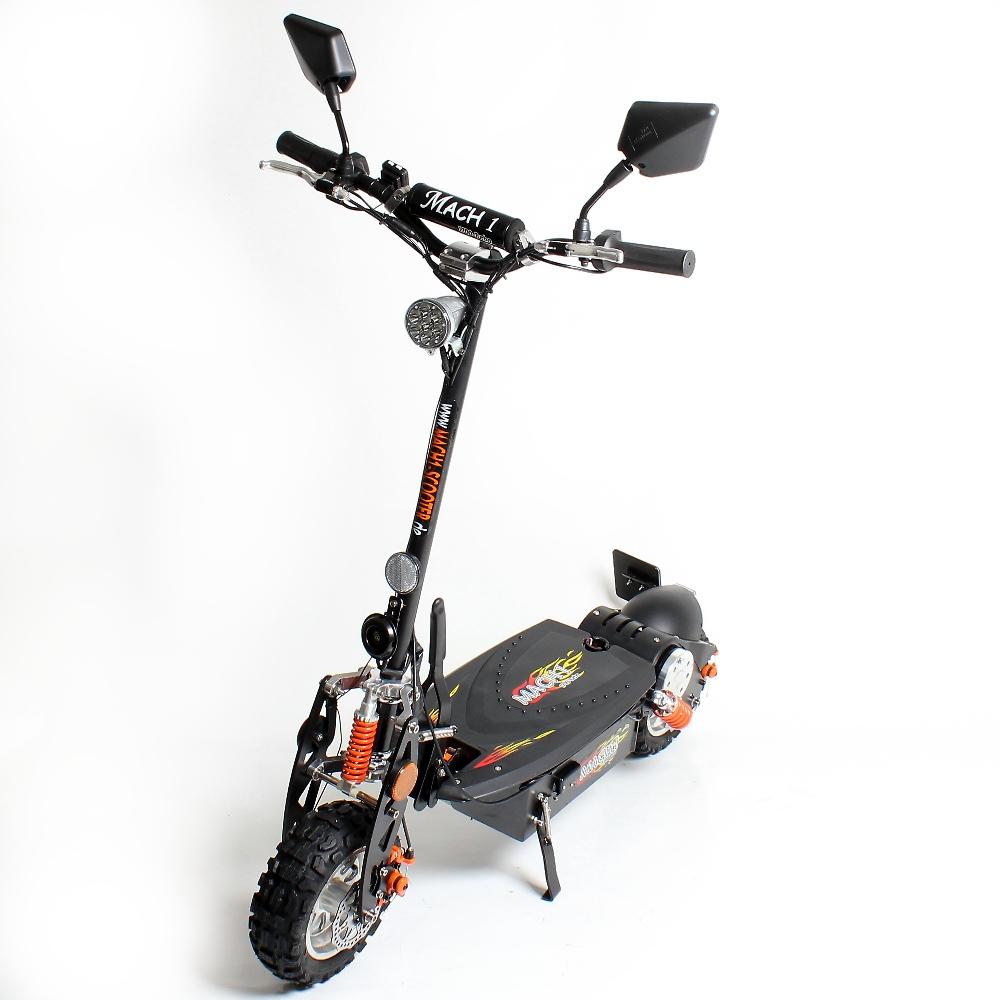 mach1 e scooter 1000w 48v motor 40 km h street legal. Black Bedroom Furniture Sets. Home Design Ideas