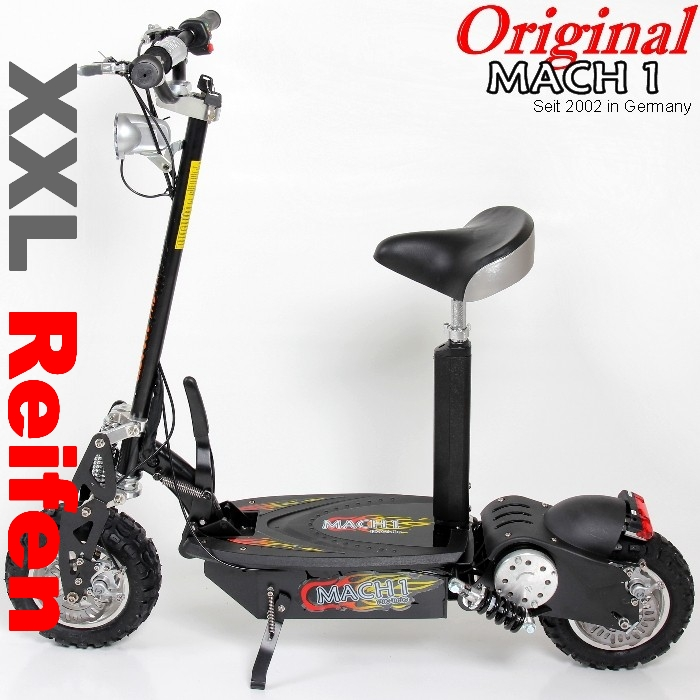 1000 watt mach1 e scooter elektroscooter elektro roller. Black Bedroom Furniture Sets. Home Design Ideas