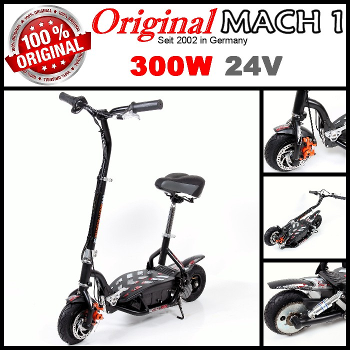 mach 1 elektroscooter 300 watt 24v children 39 s roller. Black Bedroom Furniture Sets. Home Design Ideas