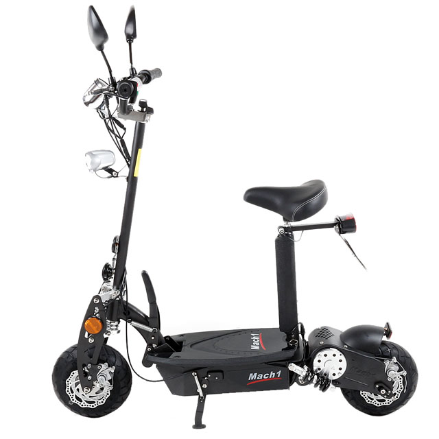 mach1 e scooter 500w 36v mit strassenzulassung mofa. Black Bedroom Furniture Sets. Home Design Ideas