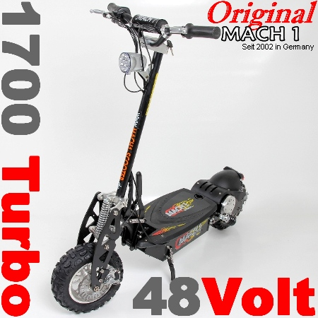 mach1 modell 1700 e scooter elektroscooter elektro roller. Black Bedroom Furniture Sets. Home Design Ideas