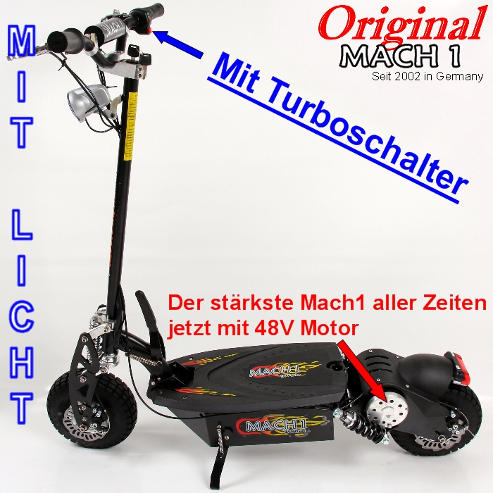 mach 1 48v 1000w e scooter elektroscooter electric scooter. Black Bedroom Furniture Sets. Home Design Ideas
