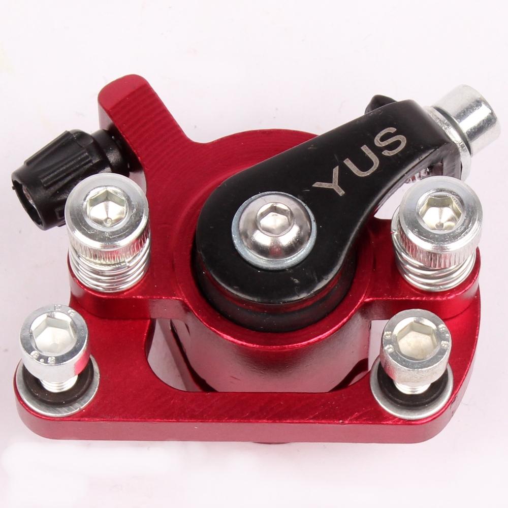 bremssattel bremse f r mach1 benzin oder elektro e scooter bremsanlage rot ebay. Black Bedroom Furniture Sets. Home Design Ideas