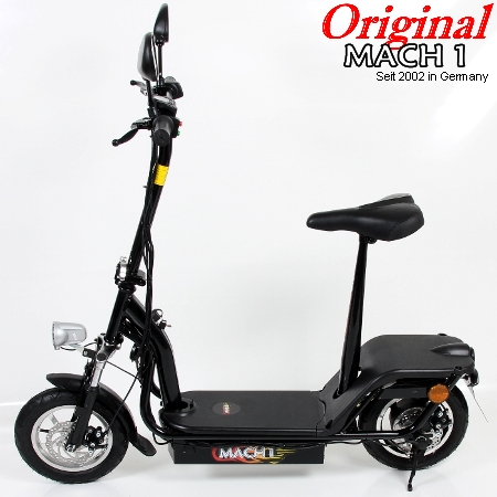 mach1 e scooter mit strassenzulassung 0 5ps mofa elektroscooter elektro roller. Black Bedroom Furniture Sets. Home Design Ideas