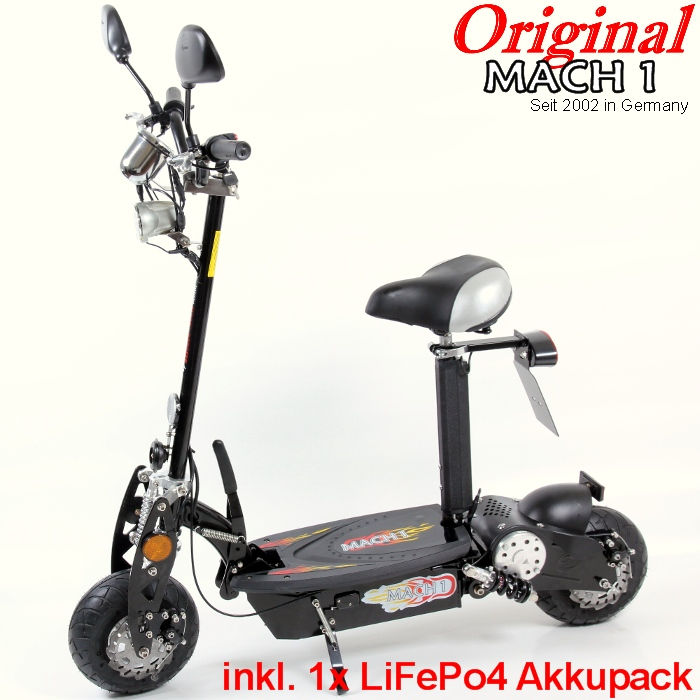 mach1 e scooter mit strassenzulassung mofa elektroscooter elektro roller 500w ebay. Black Bedroom Furniture Sets. Home Design Ideas