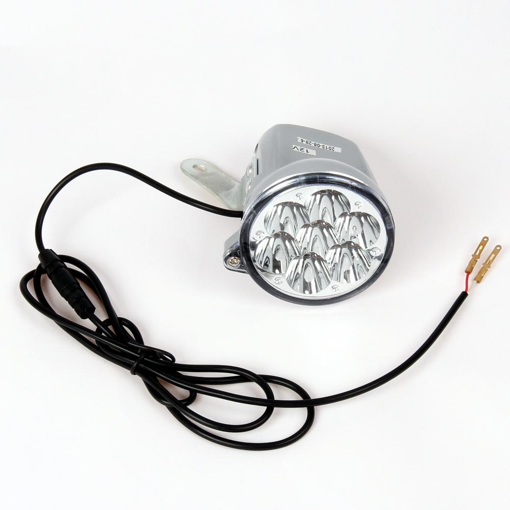 12v led vorderlicht f r mach1 elektro e scooter modell 5 eec licht lampe 1860 ebay. Black Bedroom Furniture Sets. Home Design Ideas