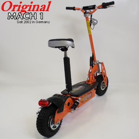 the new mach 1 1300 turbo 1000 watt e scooter. Black Bedroom Furniture Sets. Home Design Ideas