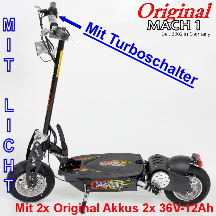 1000 watt mach1 e scooter elektroscooter elektro roller powerboard mit akku wahl ebay. Black Bedroom Furniture Sets. Home Design Ideas