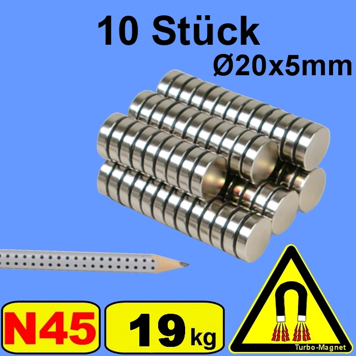 5-bis-200-Stueck-Neodym-Turbo-Magnet-D-20x5mm-20x5-mm-20x5mm-20-5mm-20-5-D20H5mm