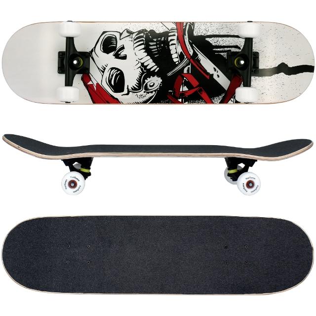 funtomia skateboard aus kanada ahornholz abec 11. Black Bedroom Furniture Sets. Home Design Ideas