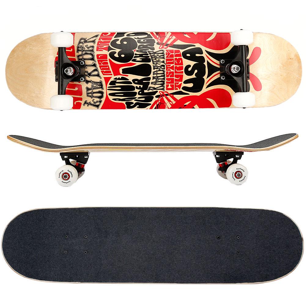funtomia skateboard kanada ahornholz abec 11 kugellager. Black Bedroom Furniture Sets. Home Design Ideas