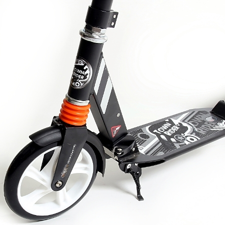 kick scooter alu city roller tretroller gro e 200mm rollen abec 11 klappbar 1904 ebay. Black Bedroom Furniture Sets. Home Design Ideas
